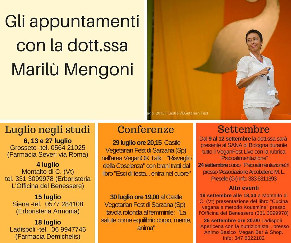 Conferenze dott.sa Mengoni